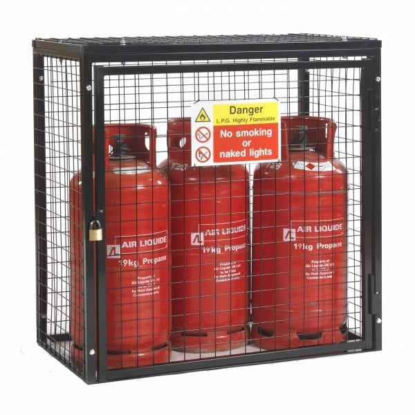 Gas Cylinder Cage H1000 x W1000 x D500mm