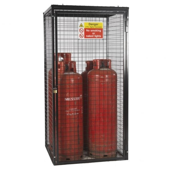 Gas Cylinder Cage H1800 x W900 x D900mm