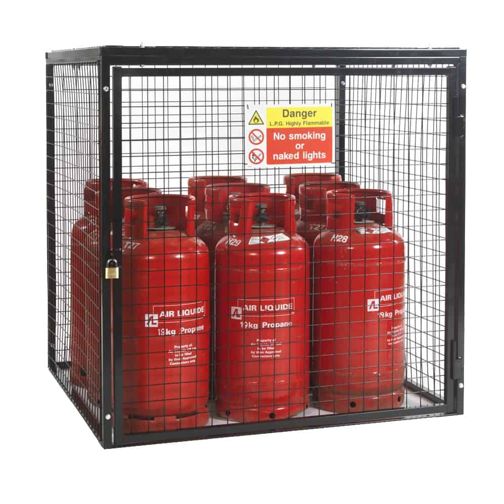 Gas Cylinder Cage H1200 x W1200 x D1200mm
