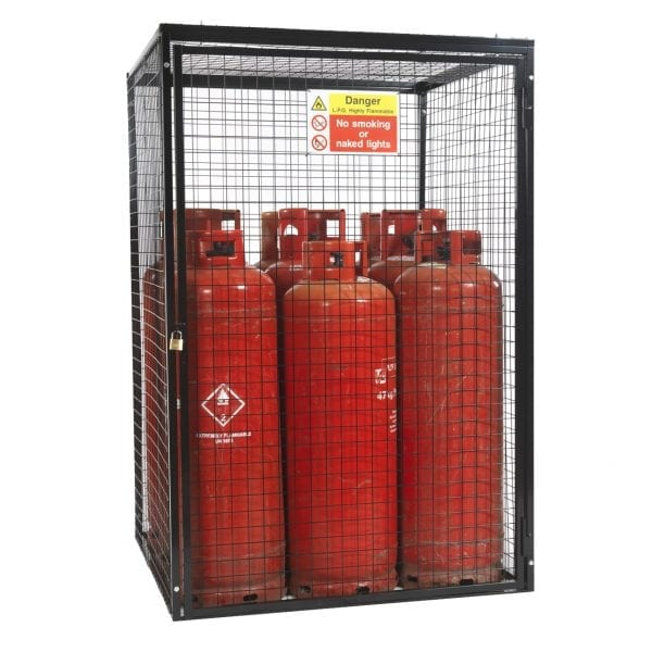 Gas Cylinder Cage H1800 x W1200 x D1200mm