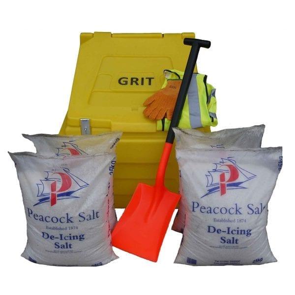 200 Litre Premium Grit Bin Kit