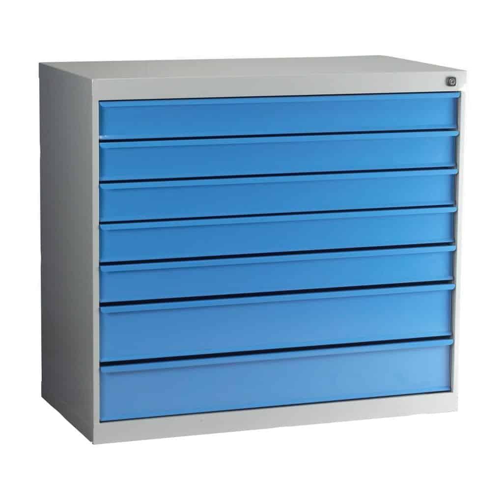 Euro 900 7 Drawer Cabinet