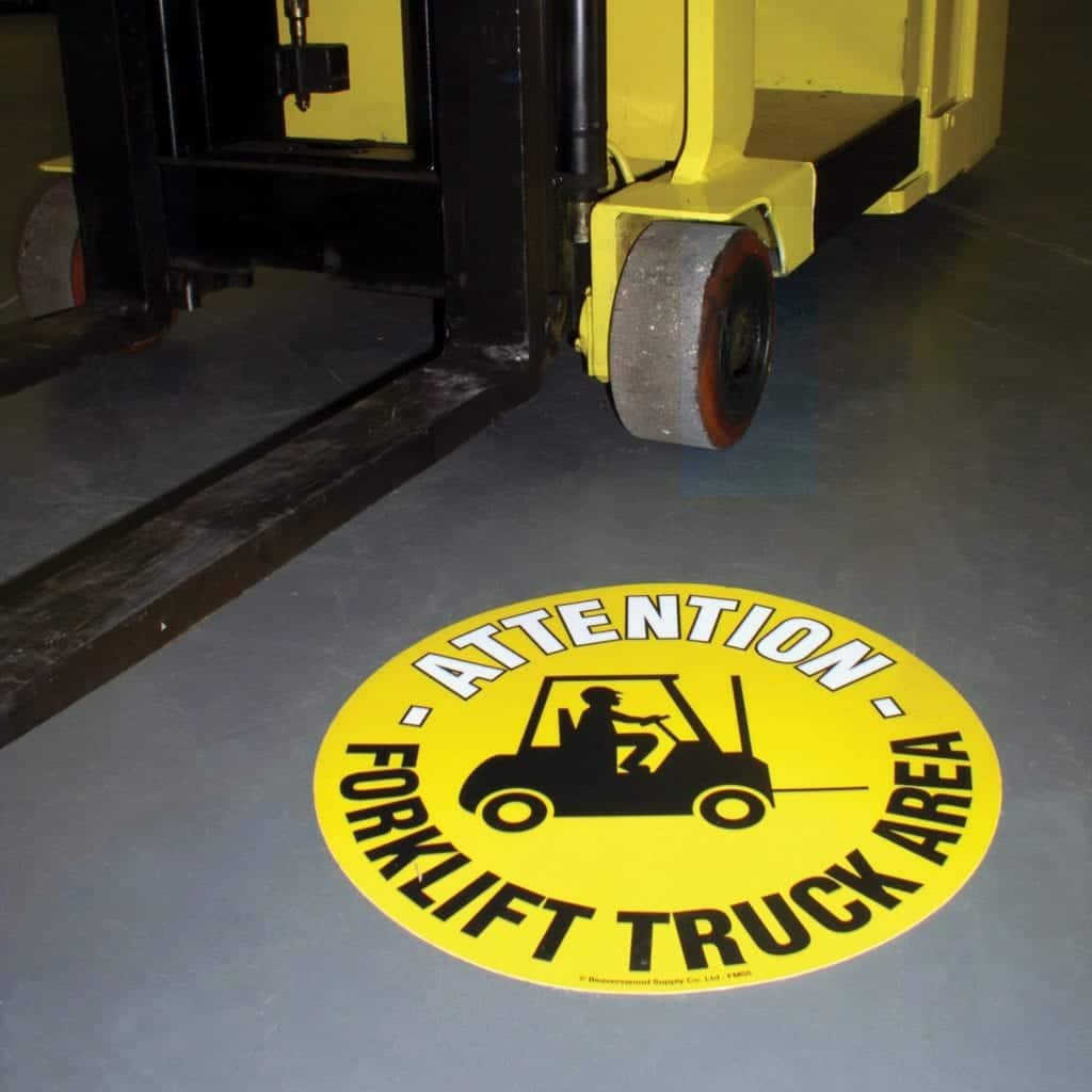 Floor Graphic Markers Safety Floor Signs