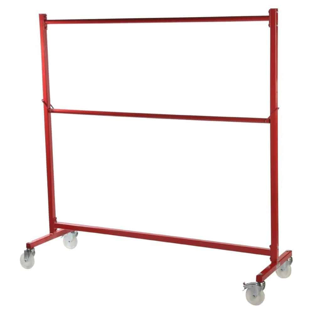 Nestable Garment Rail Red