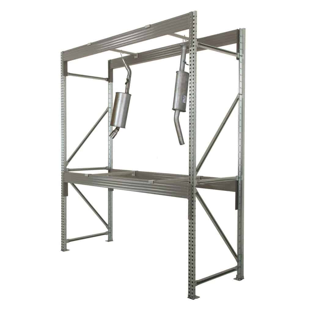 Midispan Galvanised Hanging Racking