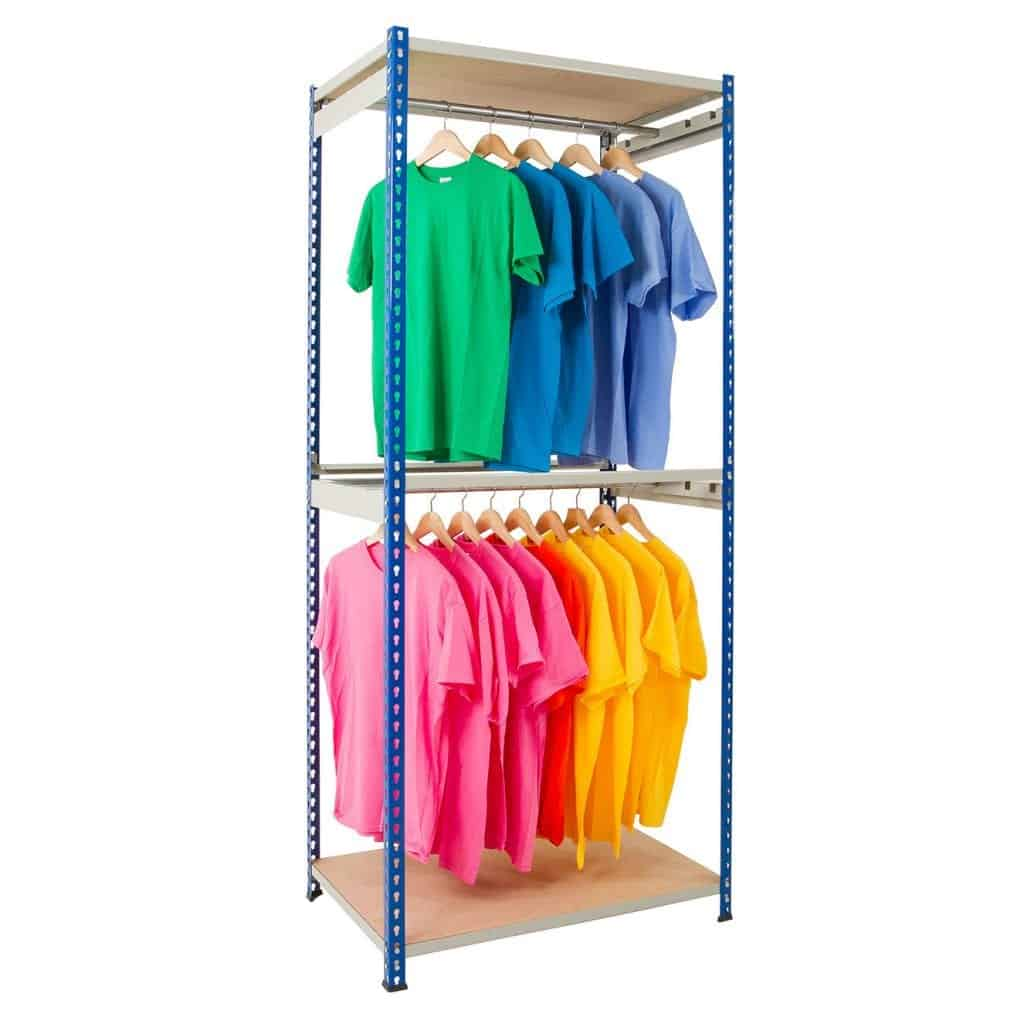 Rivet Bulk Garment Hanging Racks