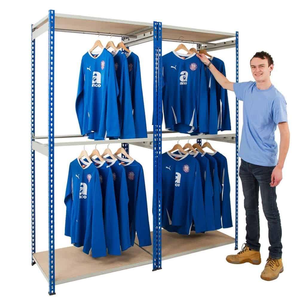 Rivet Bulk Garment Hanging Racking
