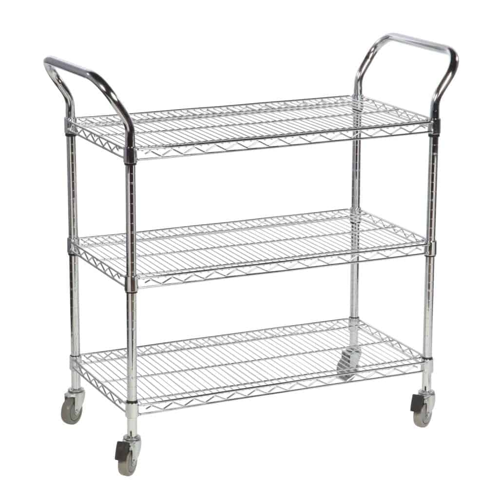 Chrome Wire General Purpose Trolleys