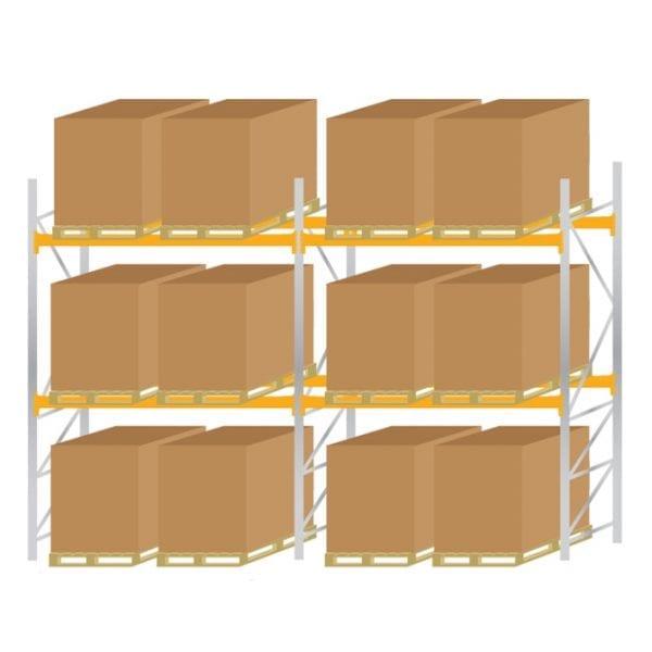 Warehouse Pallet Racking 900 Kit 2
