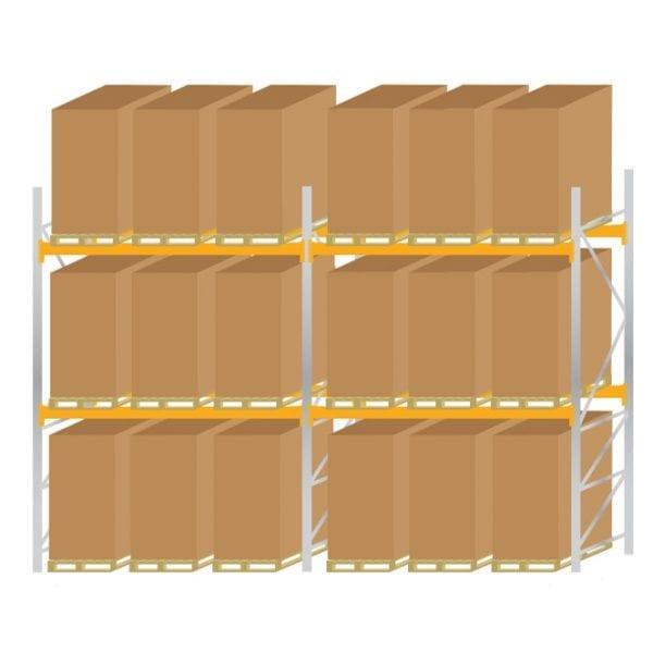Warehouse Pallet Racking 1100 Kit 5