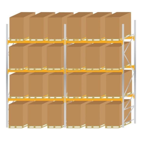 Warehouse Pallet Racking 1100 Kit 6