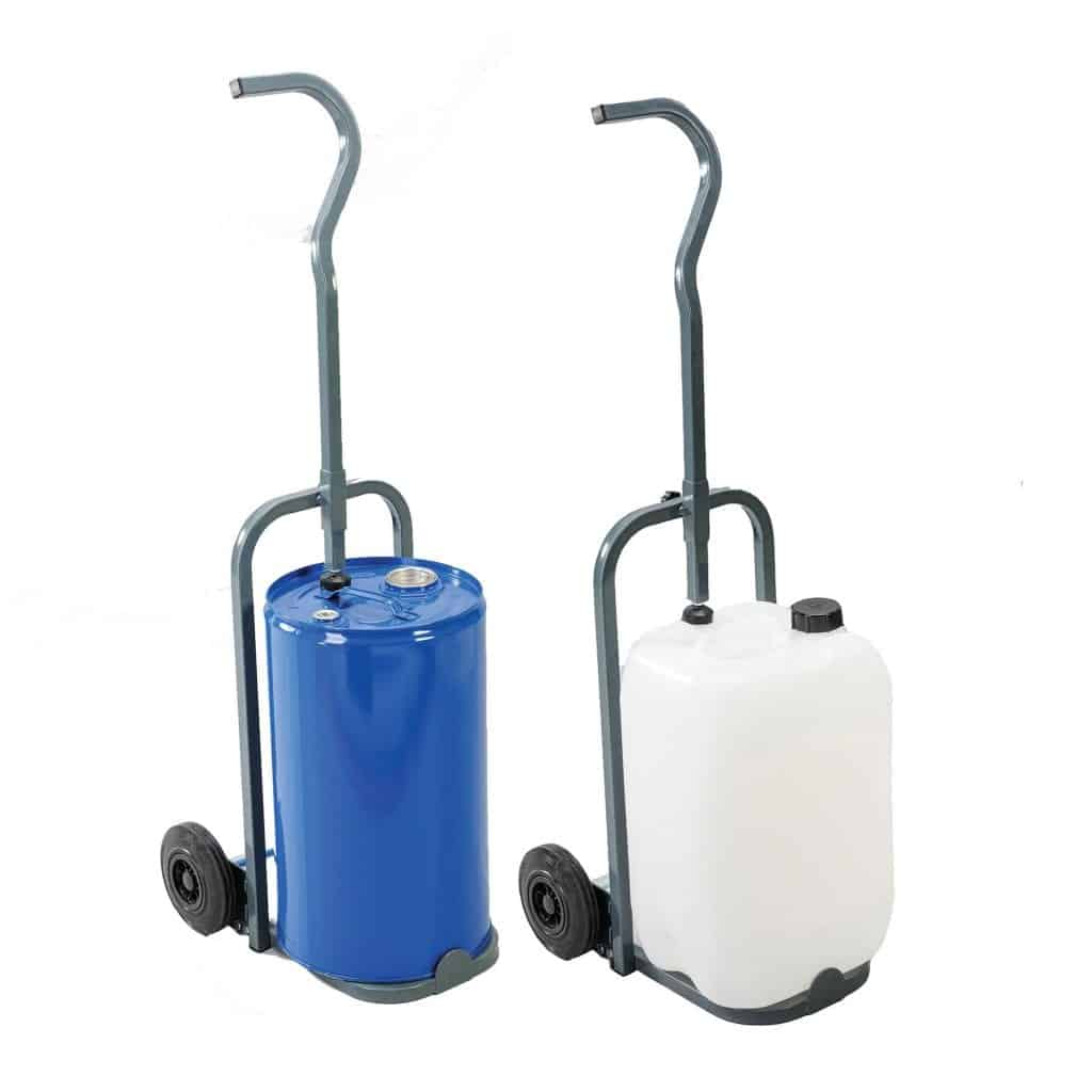 Single Handle Steel Drum Trolleys