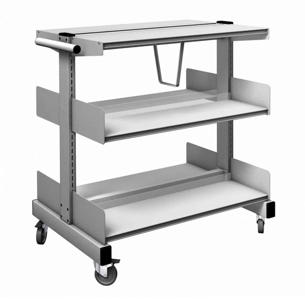 Probe Technic Mobile Book Trolleys