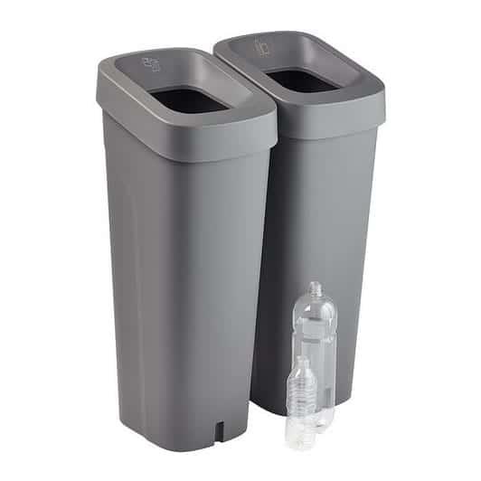 uBin Mini Plastic Office Recycling Bins