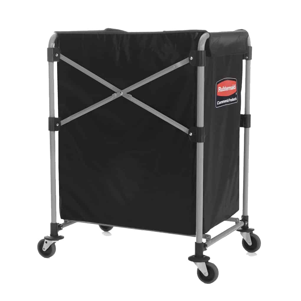 Rubbermaid Collapsible X Cart Trolley Storage N Stuff