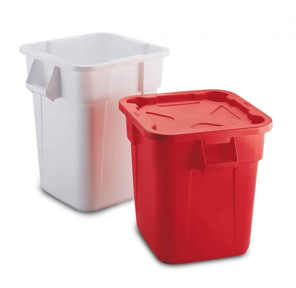 Rubbermaid Brute Square Containers