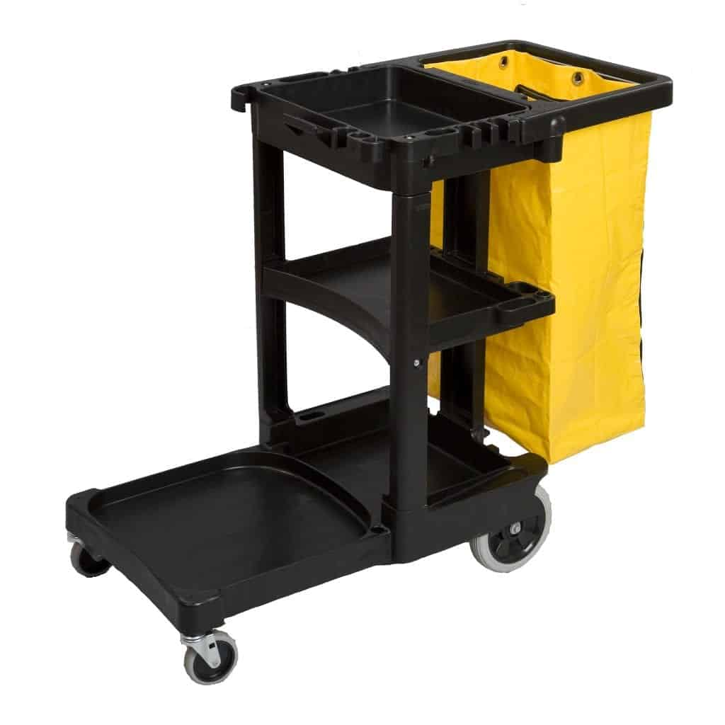 Rubbermaid Janitor Cleaning Cart