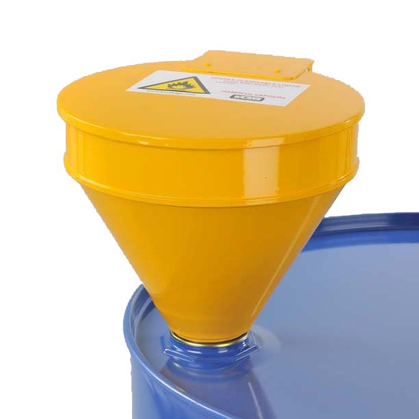 Heavy Duty Lidded Safety Funnel