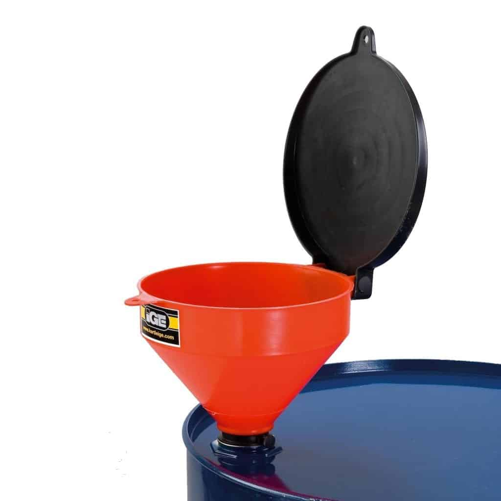 Medium Duty Plastic Lidded Funnel