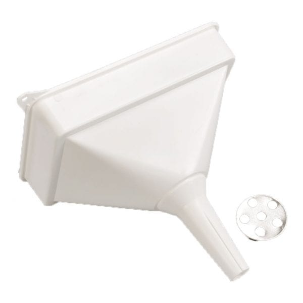 Rectangular Plastic Garage Funnel