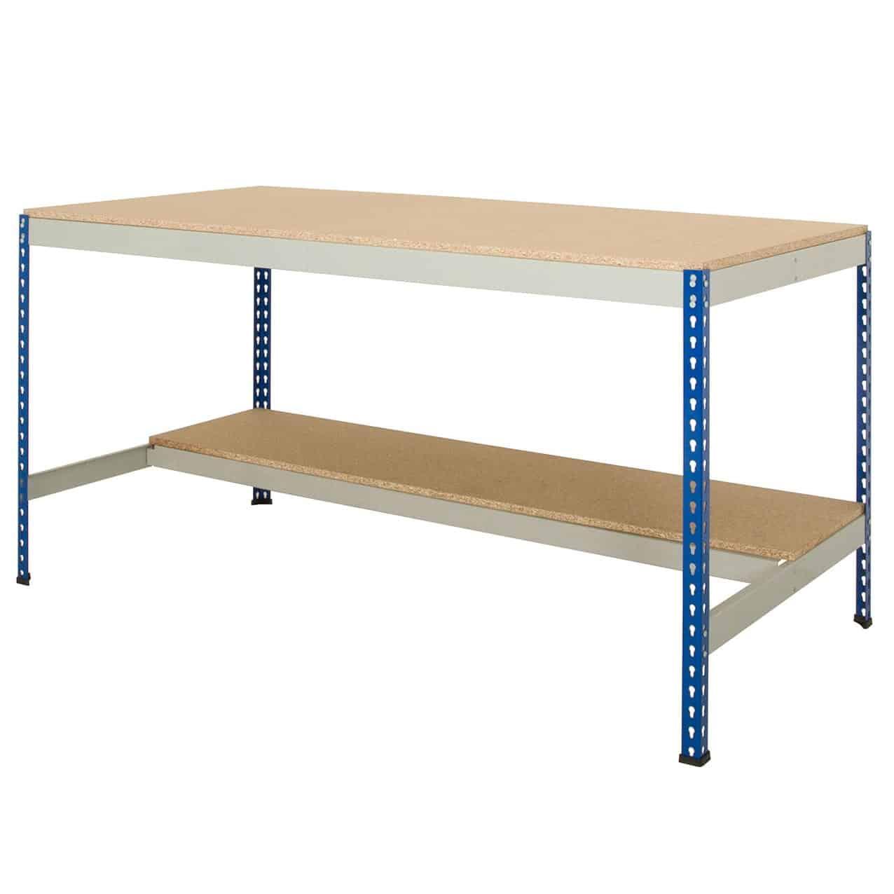 Half Undershelf Rivet Workbenches