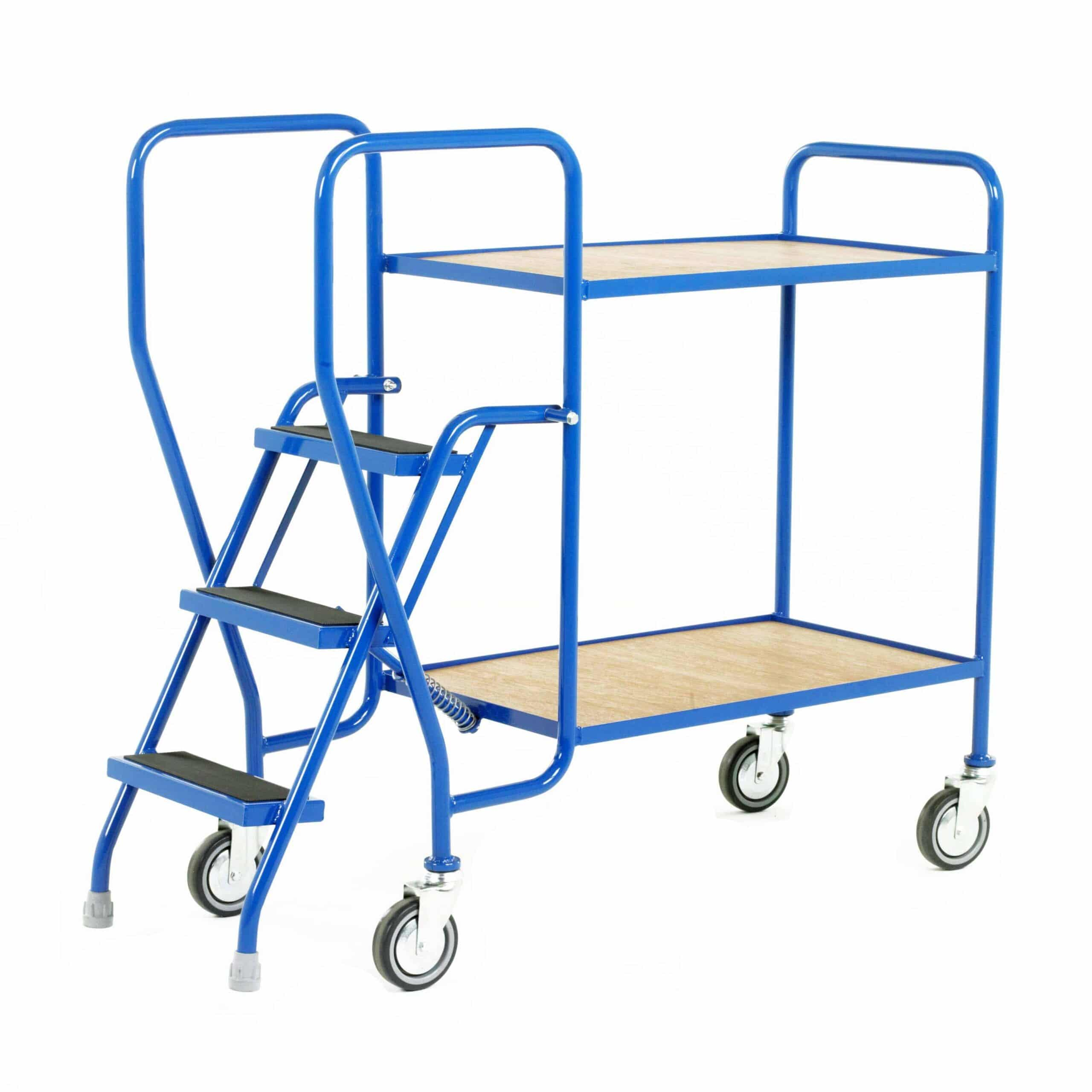 Plywood Tray 3 Step Tray Trolleys