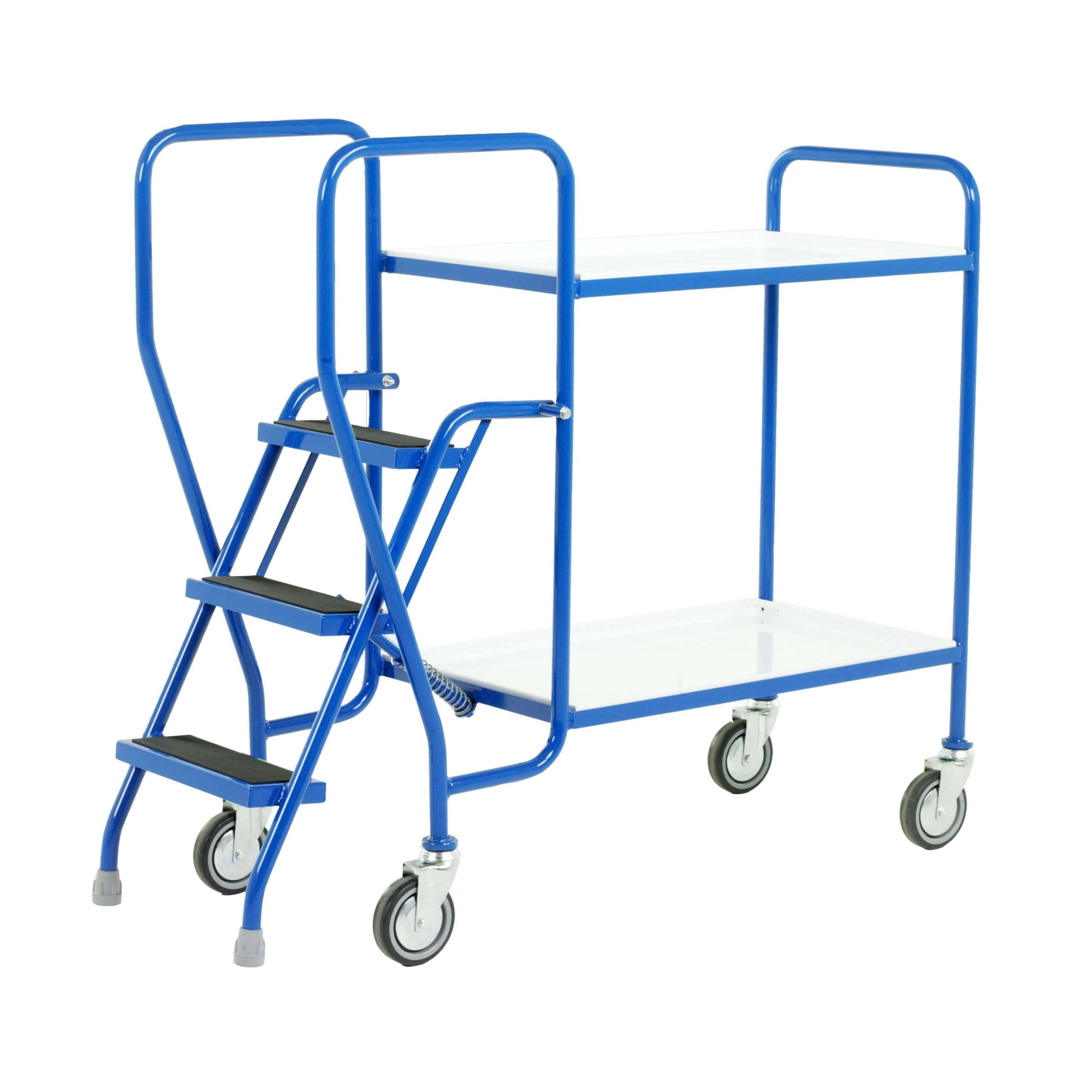 Reversible Tray 3 Step Tray Trolleys