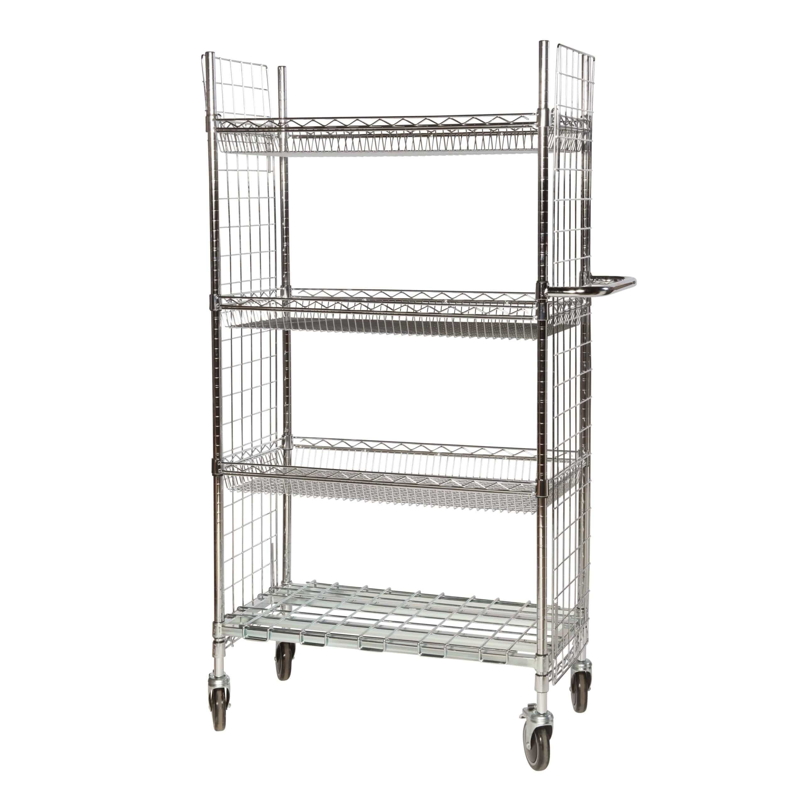 Chrome Wire Trolleys Type 2