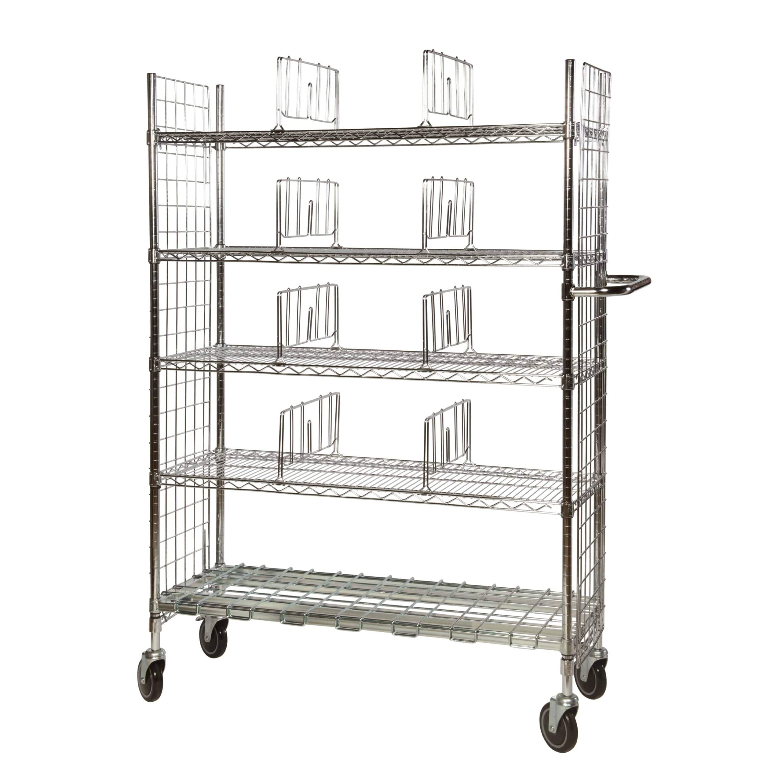 Chrome Wire Trolleys Type 1