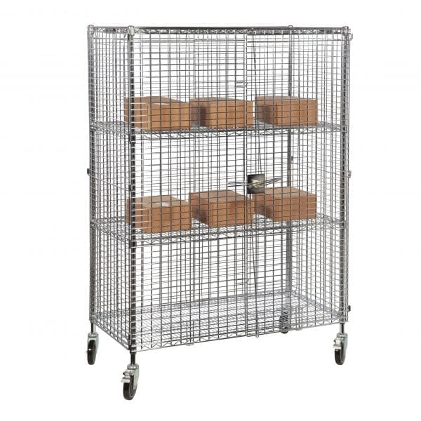 Chrome Wire Security Cages