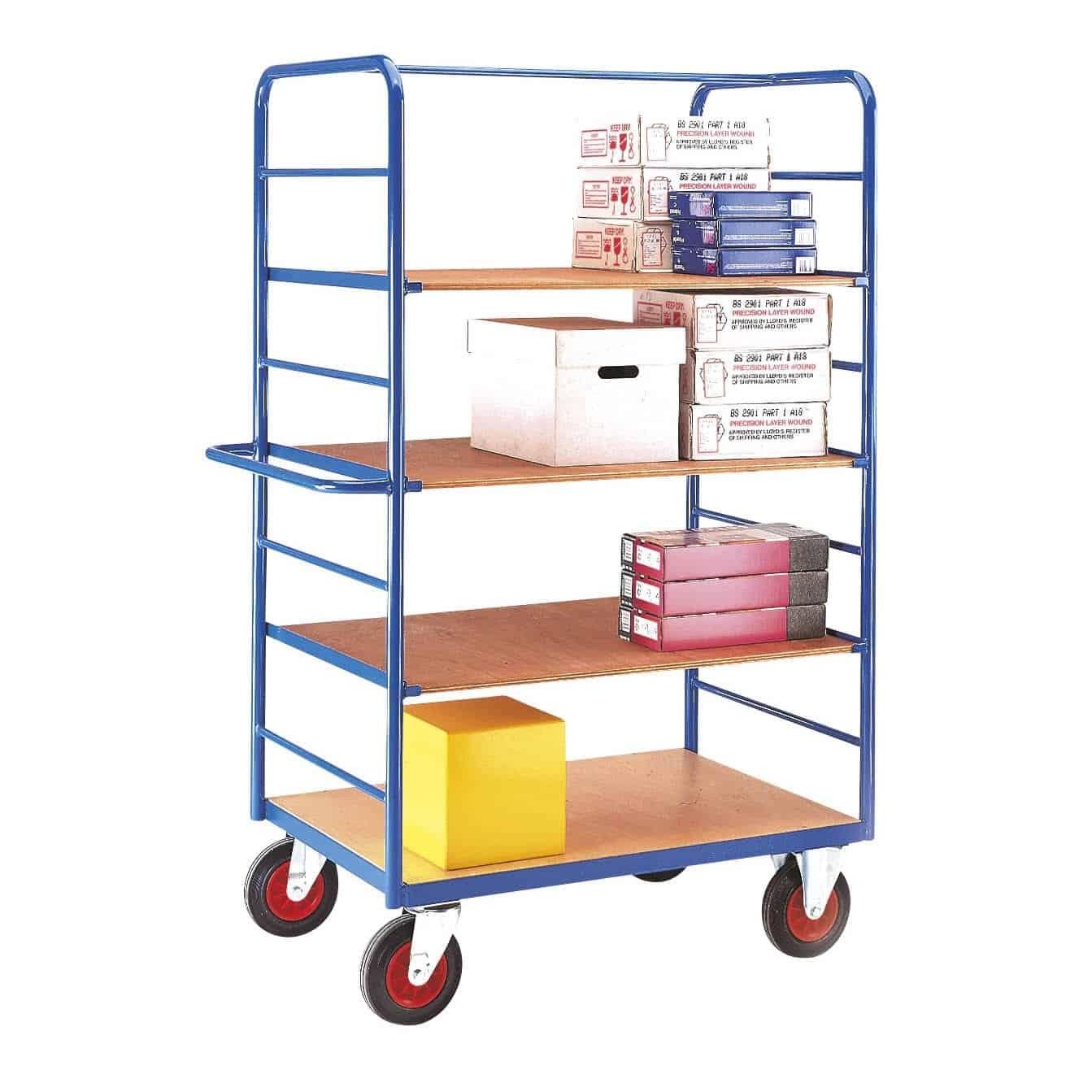 Standard Fixed Ply Platform Shelf Trucks