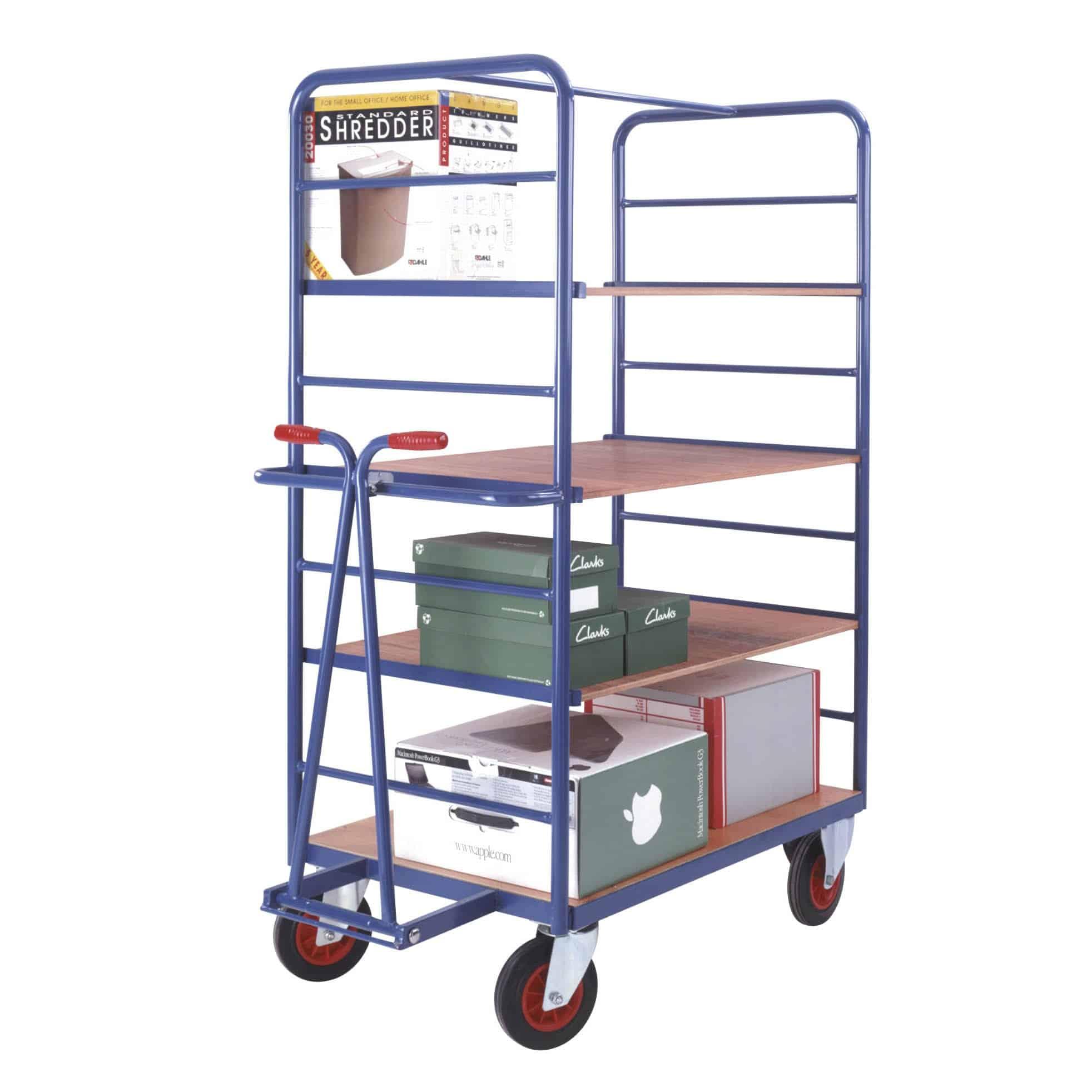 Fixed Platform Draw Bar Shelf Trucks