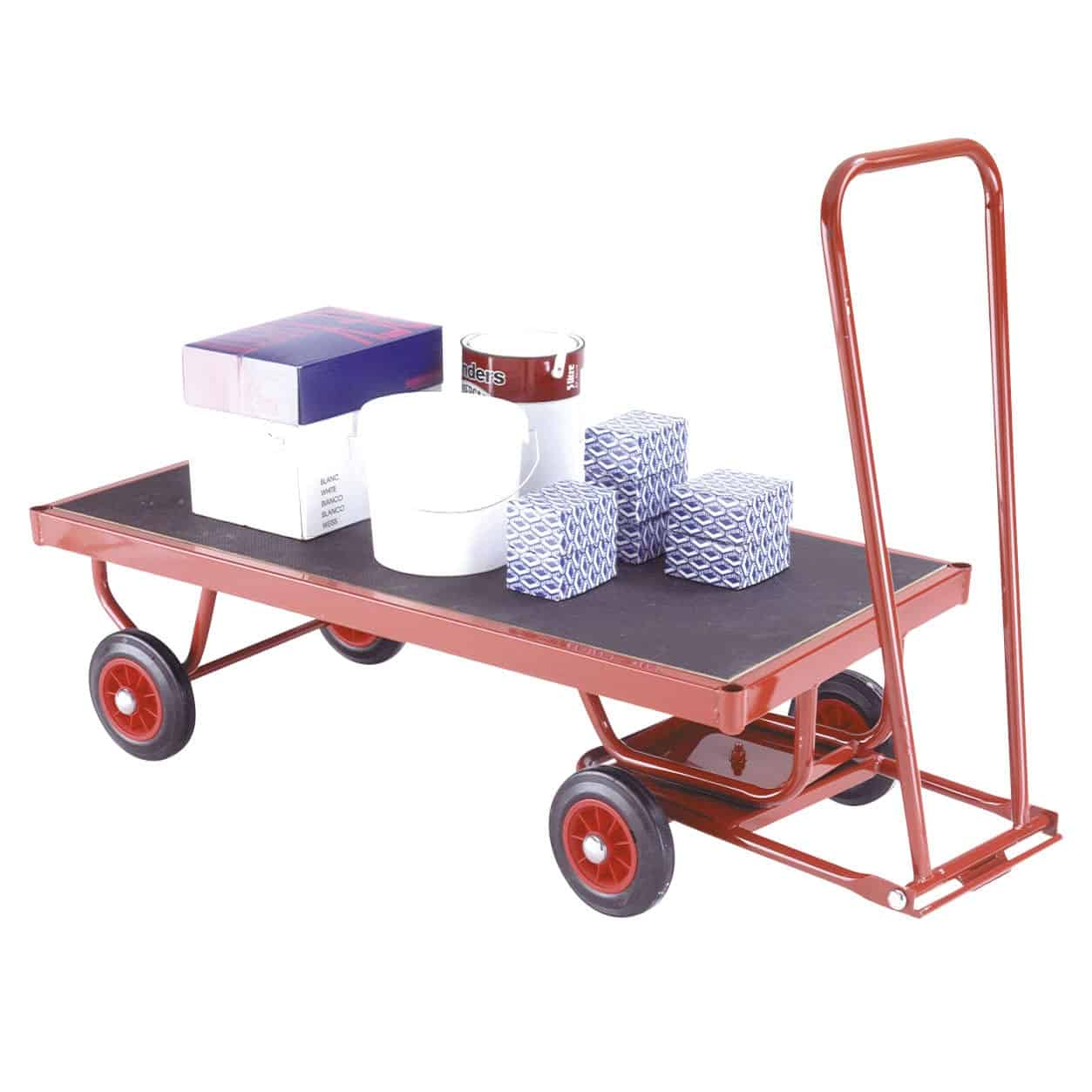 Phenolic Flatbed Turntable Trailers