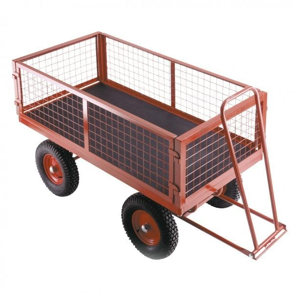 Removable Mesh Phenolic Turntable Trailers