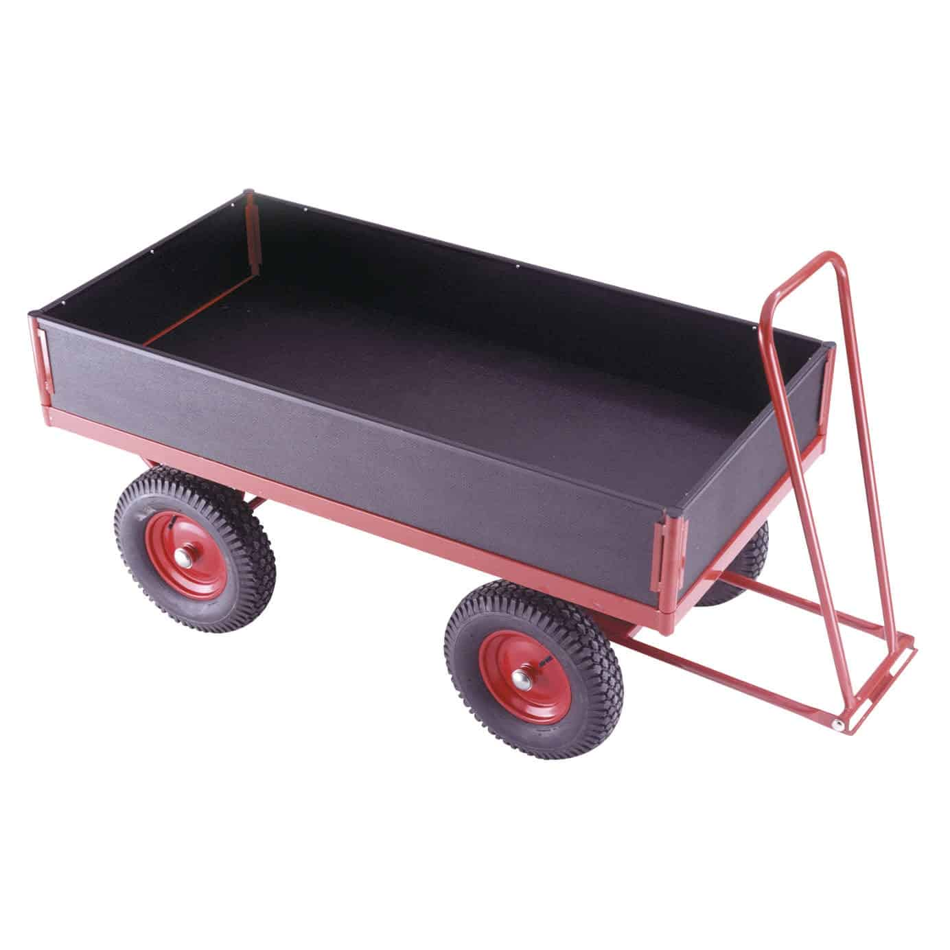 Removable Phenolic Panel Turntable Trailers