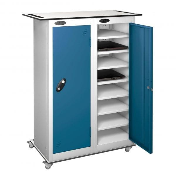TABbox 16 Shelf Storage Trolleys