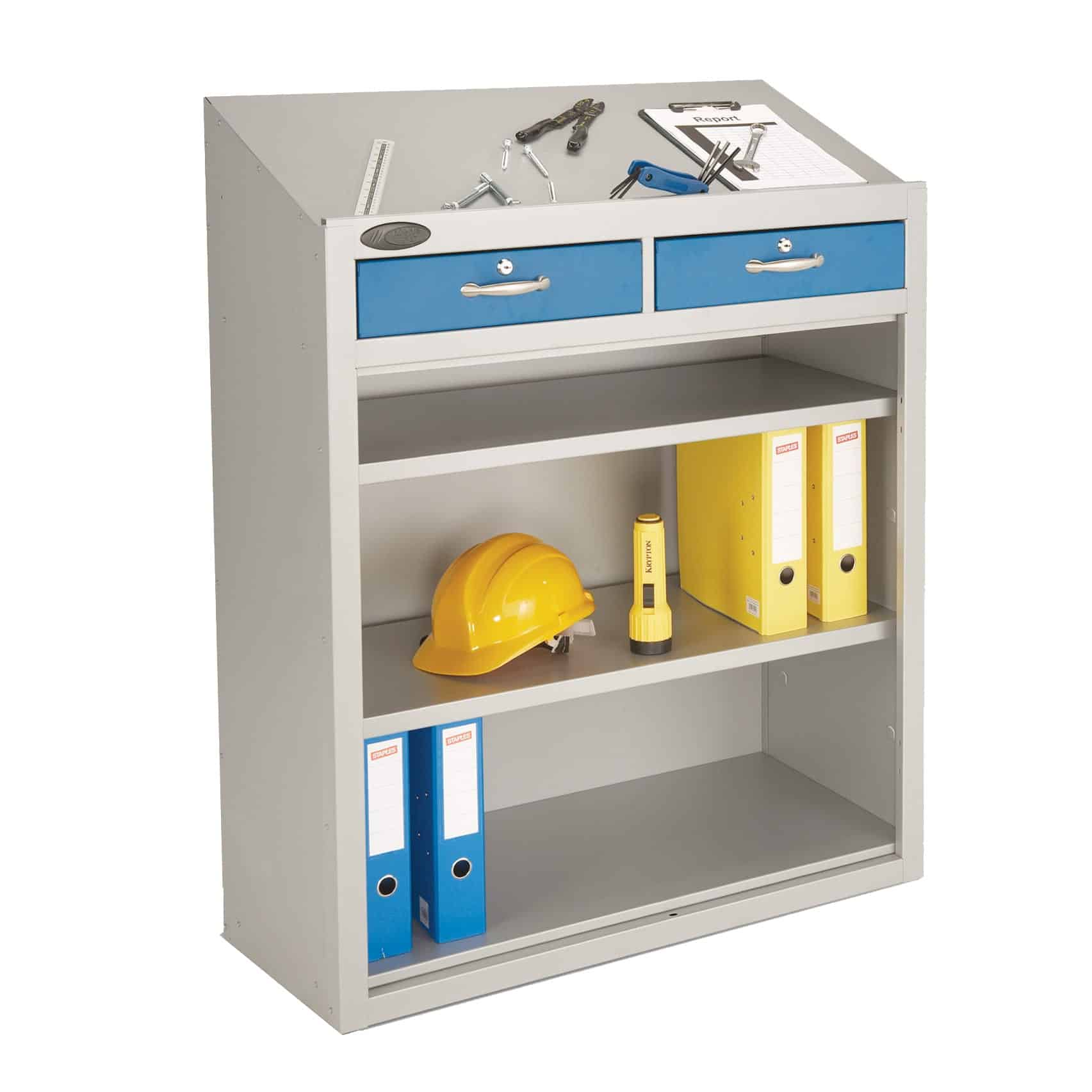 Probe Double Drawer Workstations