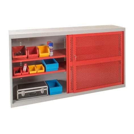Sliding Door Mesh Cabinets