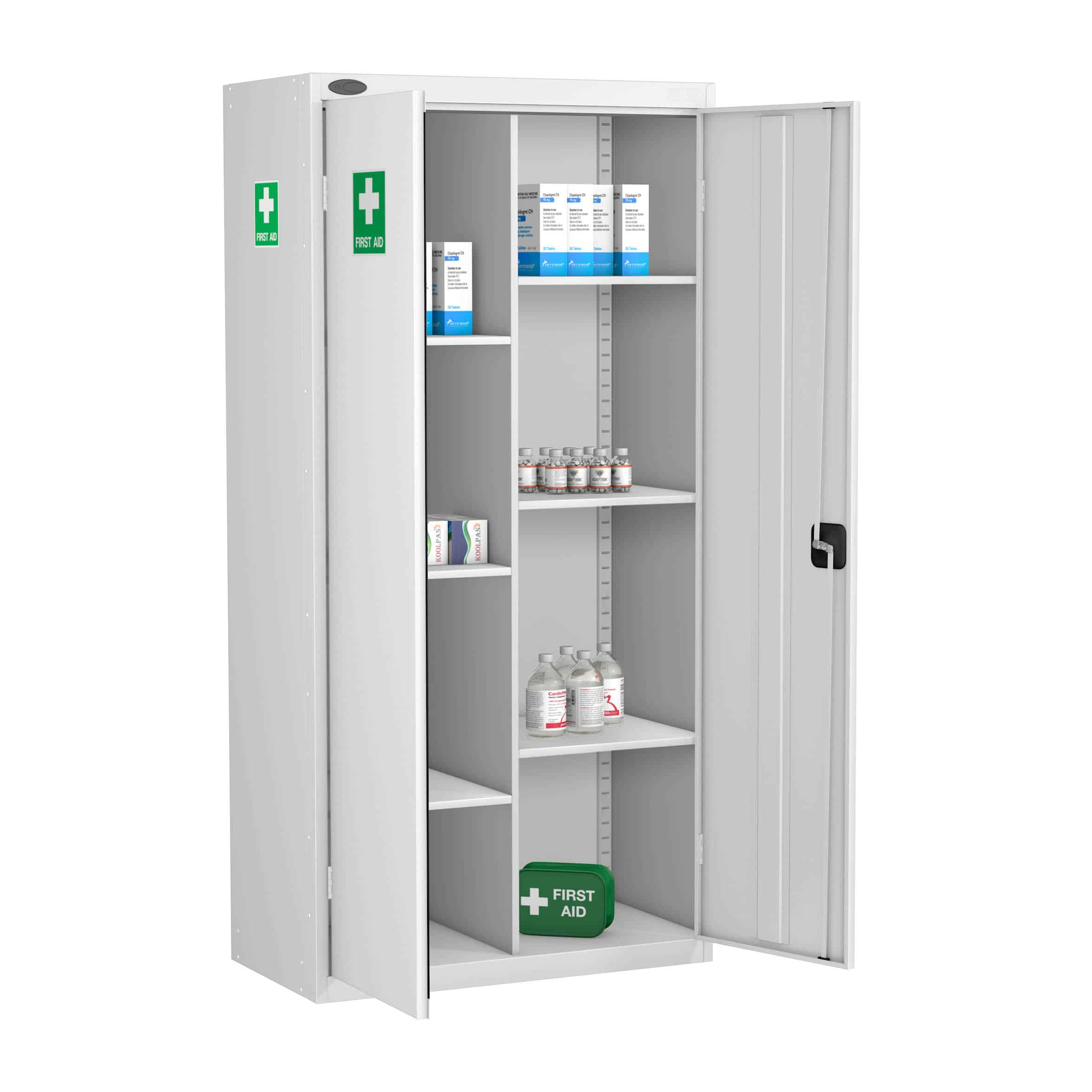 Probe Compartment Medical Cabinet