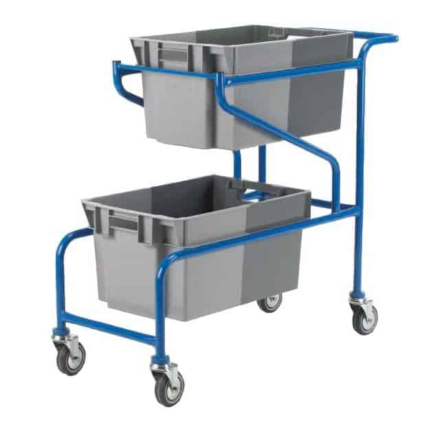Plastic Container Carrier Trolley