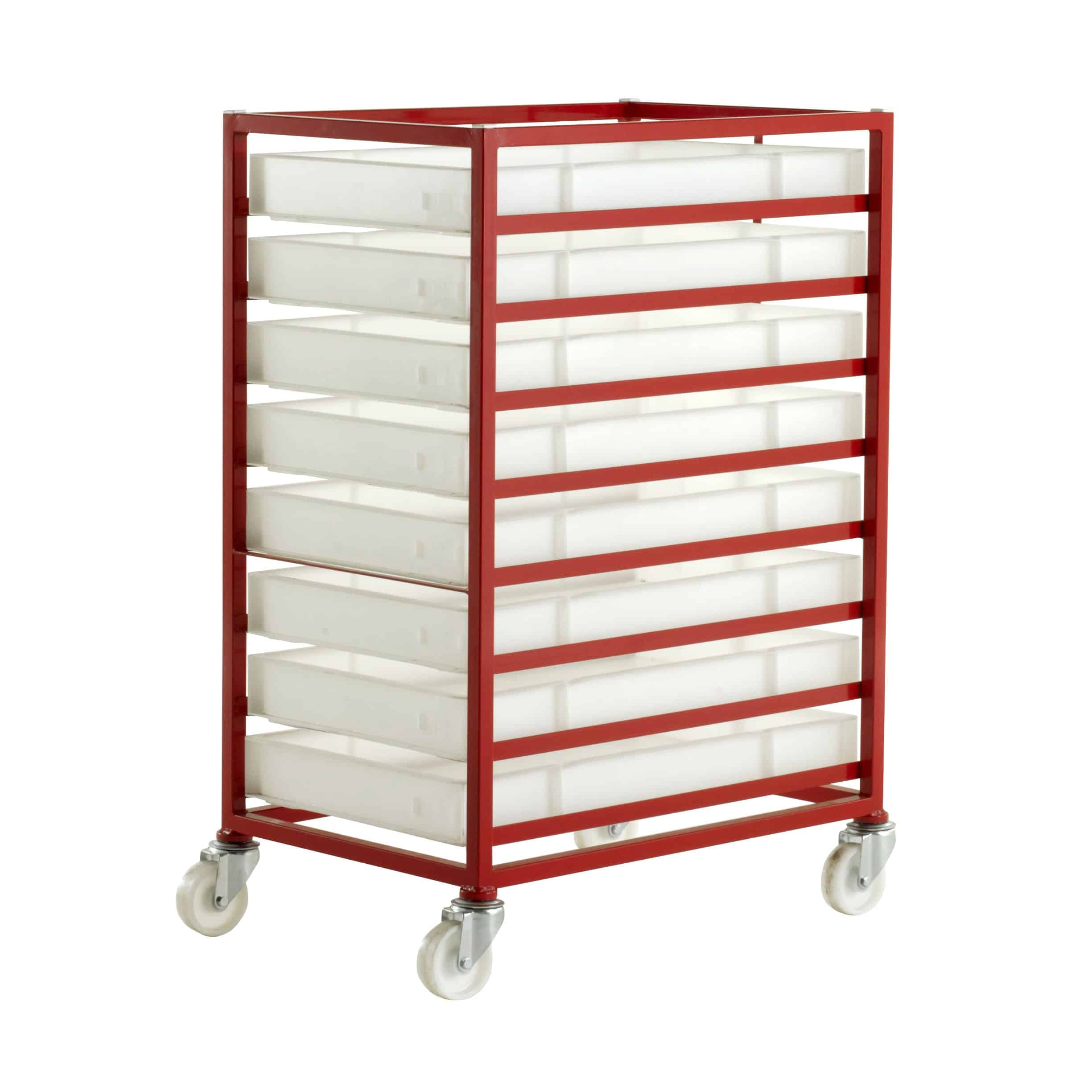 CT38 Mobile Tray Racks