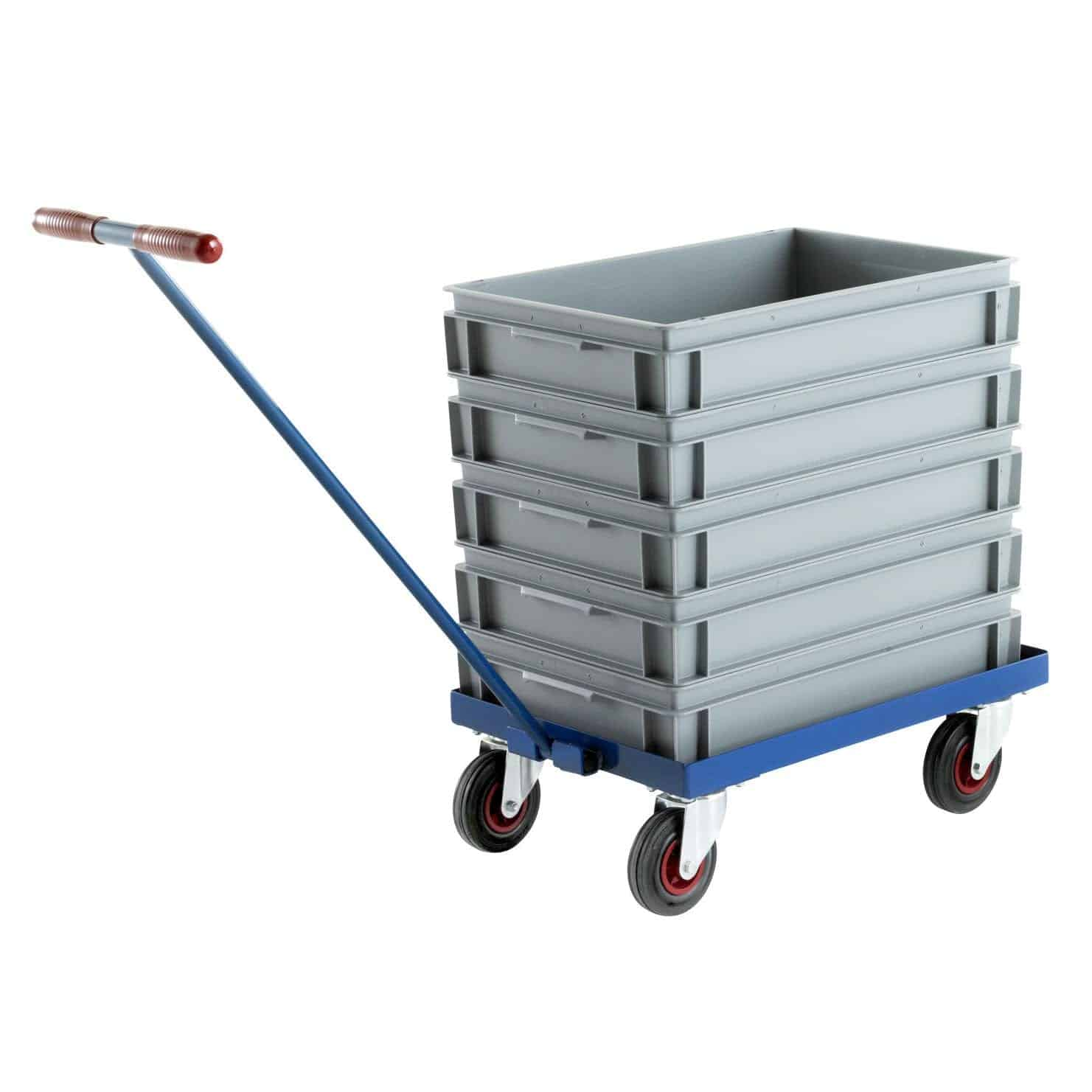Euro Stacking Container Trolley