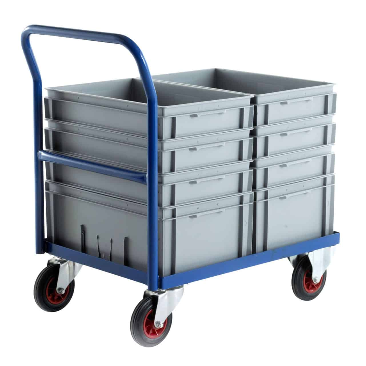 Euro Container Stacking Trolley