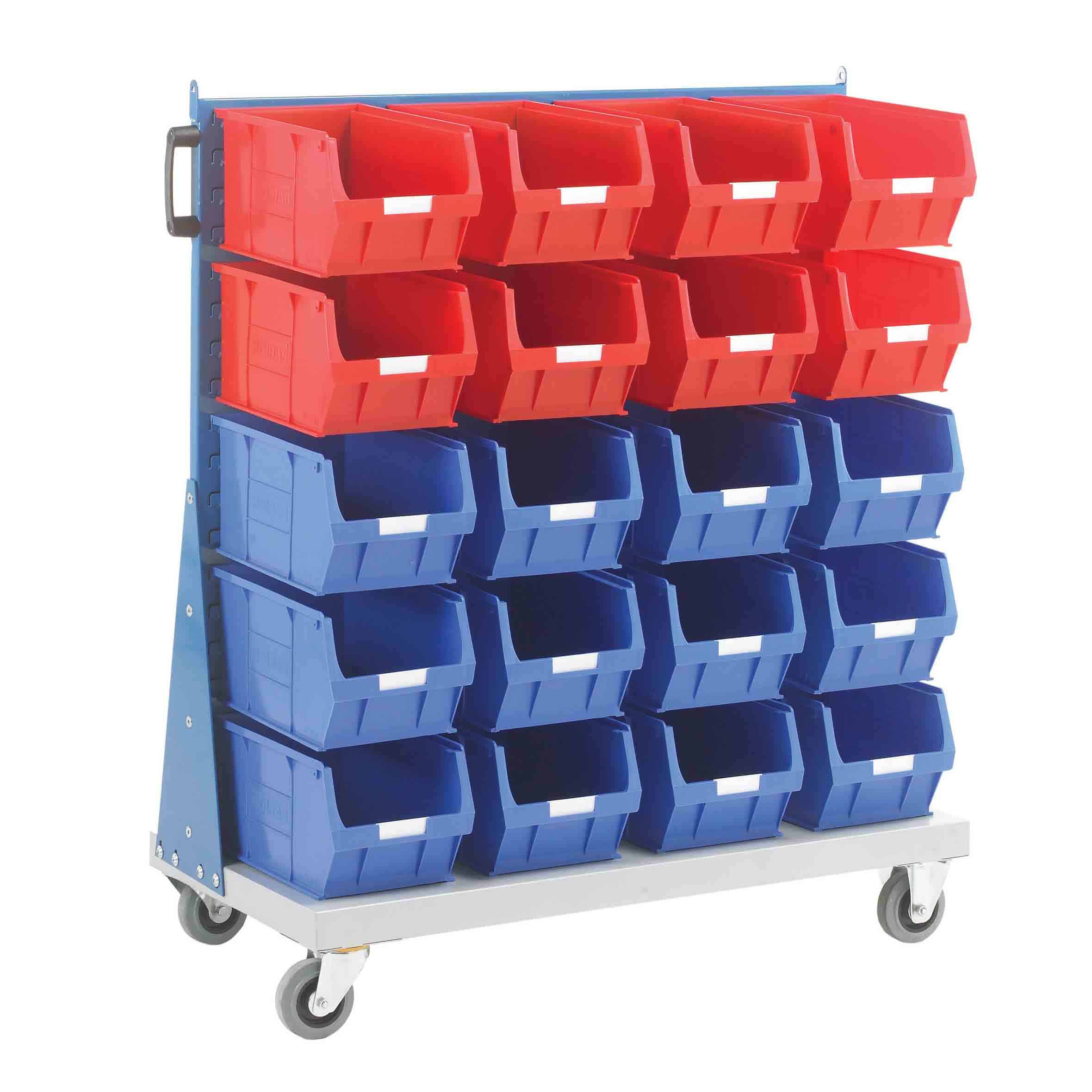 Single Sided Trolley 20 TC5 Bin Kit