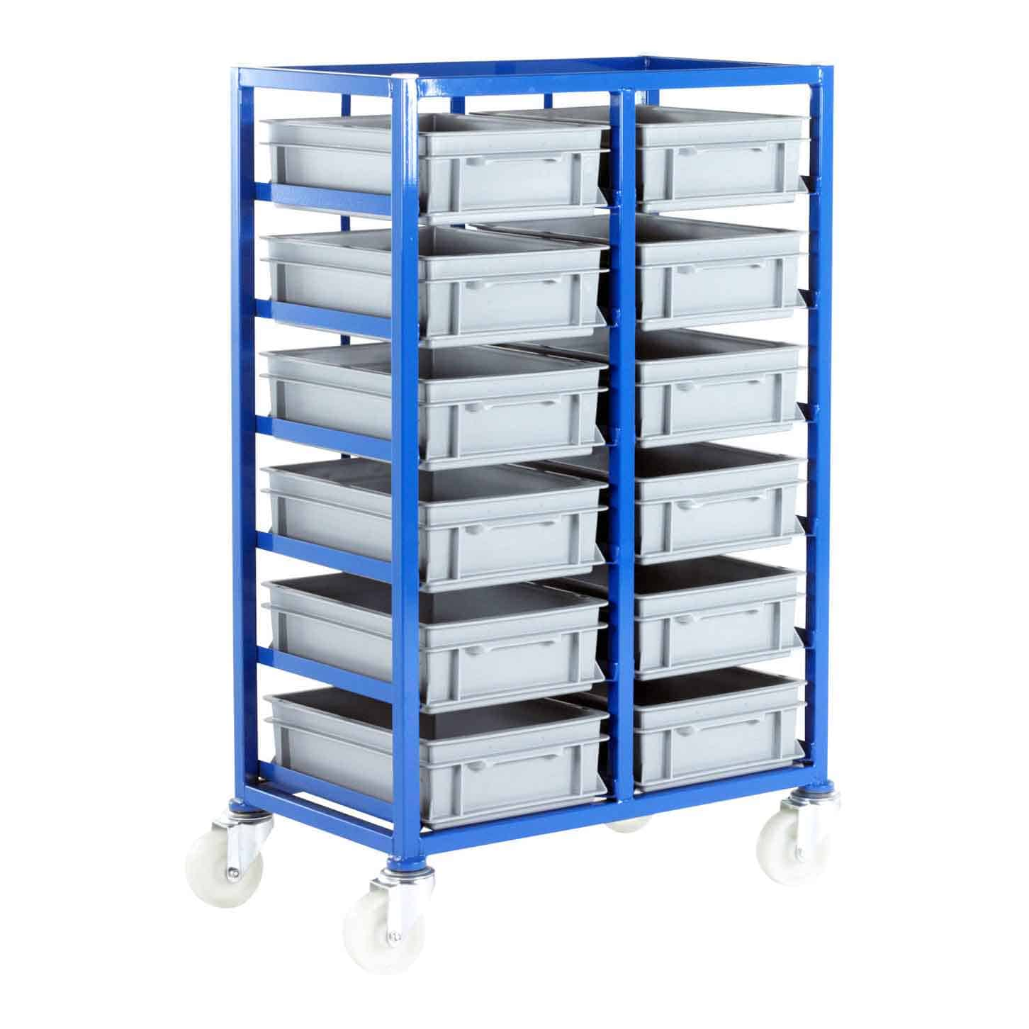 12 Euro Container Tray Racks