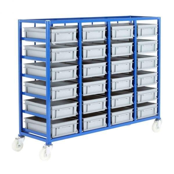 24 Euro Container Tray Racks