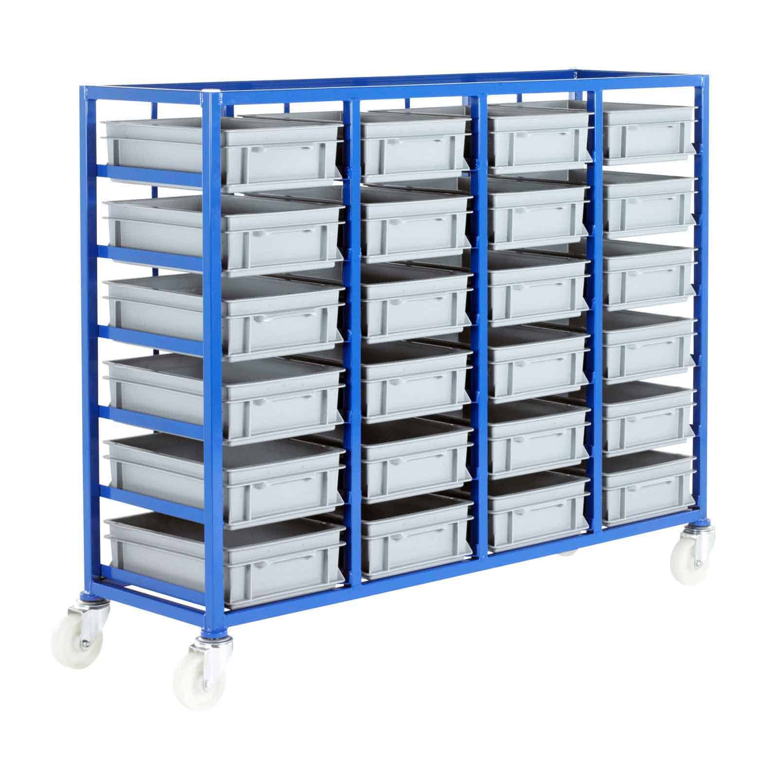 24 Euro Container Tray Racks