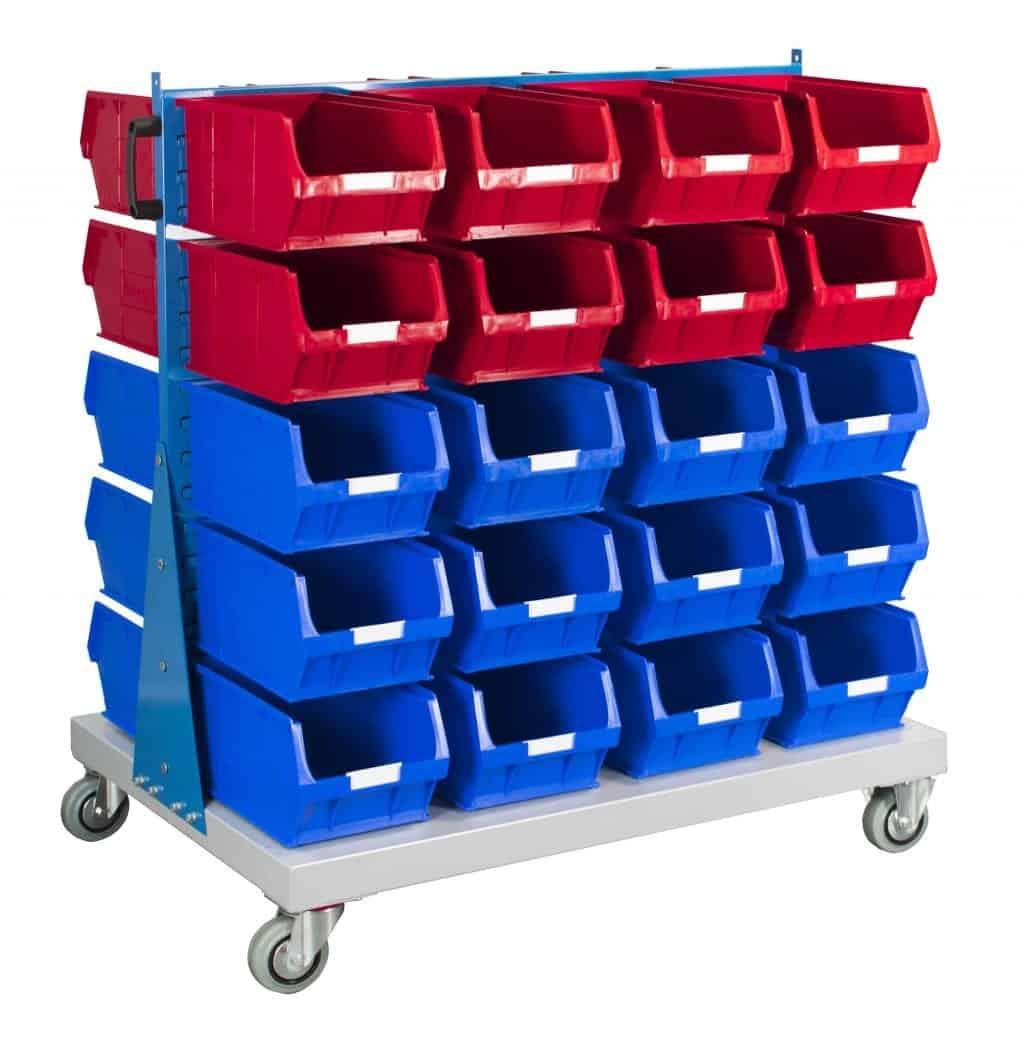 Double Sided Trolley 40 TC5 Bin Kit