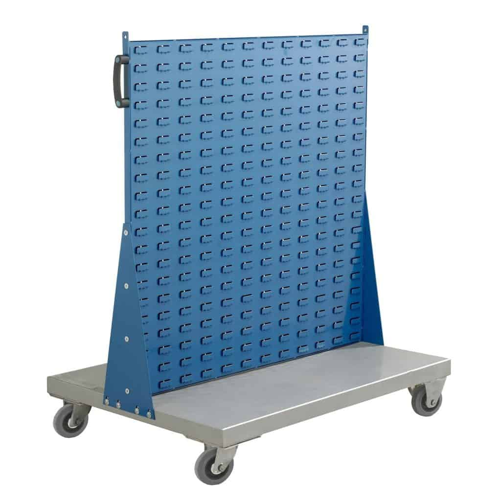 Double Sided Louvred Panel Trolleys