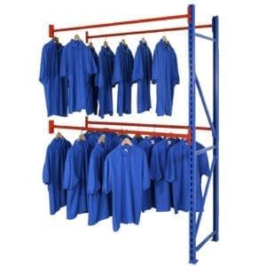 Longspan Garment Rack Extension Bay